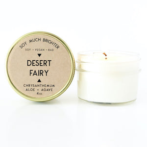 Desert Fairy: Chrysanthemum + Aloe + Agave || 4oz