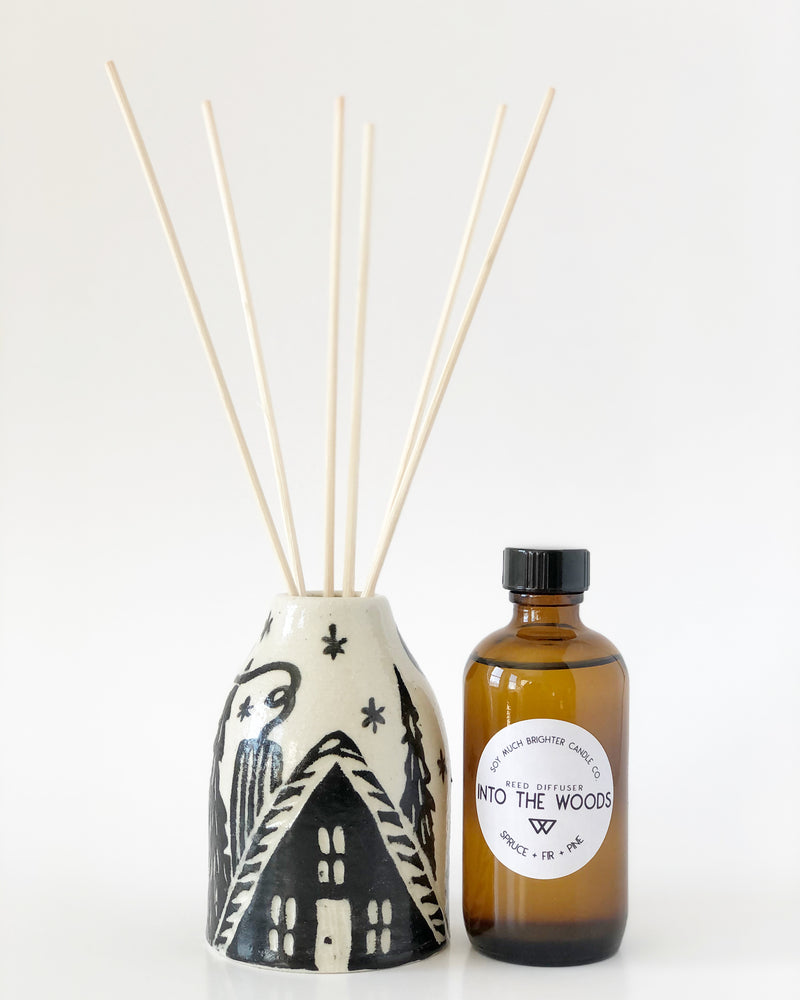 Woodsy Reed Diffuser Gift Box