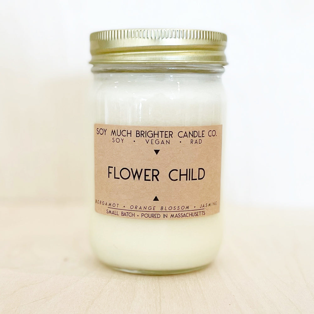 Flower Child: Bergamot + Jasmine + Orange Blossom || 12oz