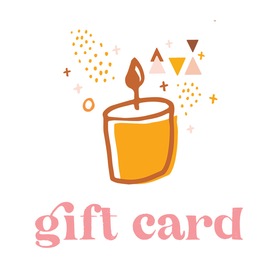 Candle Gift Card // Digital