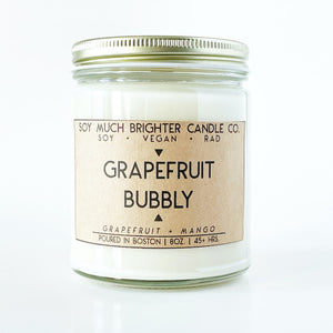 Load image into Gallery viewer, Grapefruit Bubbly: Grapefruit + Mango || 8oz