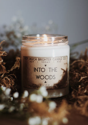 Into the Woods: Pine + Fir + Spruce || 8oz