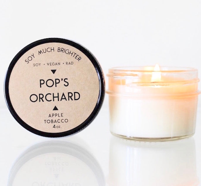 Pop's Orchard: Tobacco + Apple || 4oz