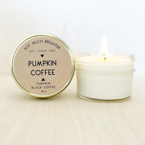 Pumpkin Coffee: Pumpkin + Black Coffee || 4oz