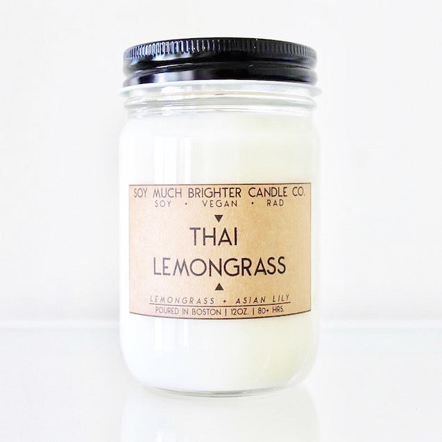 Thai Lemongrass: Lemongrass + Asian Lily || 12oz