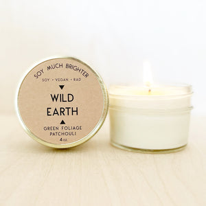 Wild Earth: Patchouli + Green Foliage || 4oz