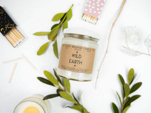 Wild Earth: Patchouli + Green Foliage || 8oz