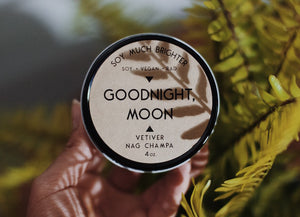 Load image into Gallery viewer, Goodnight, Moon: Vetiver + Nag Champa || 4oz