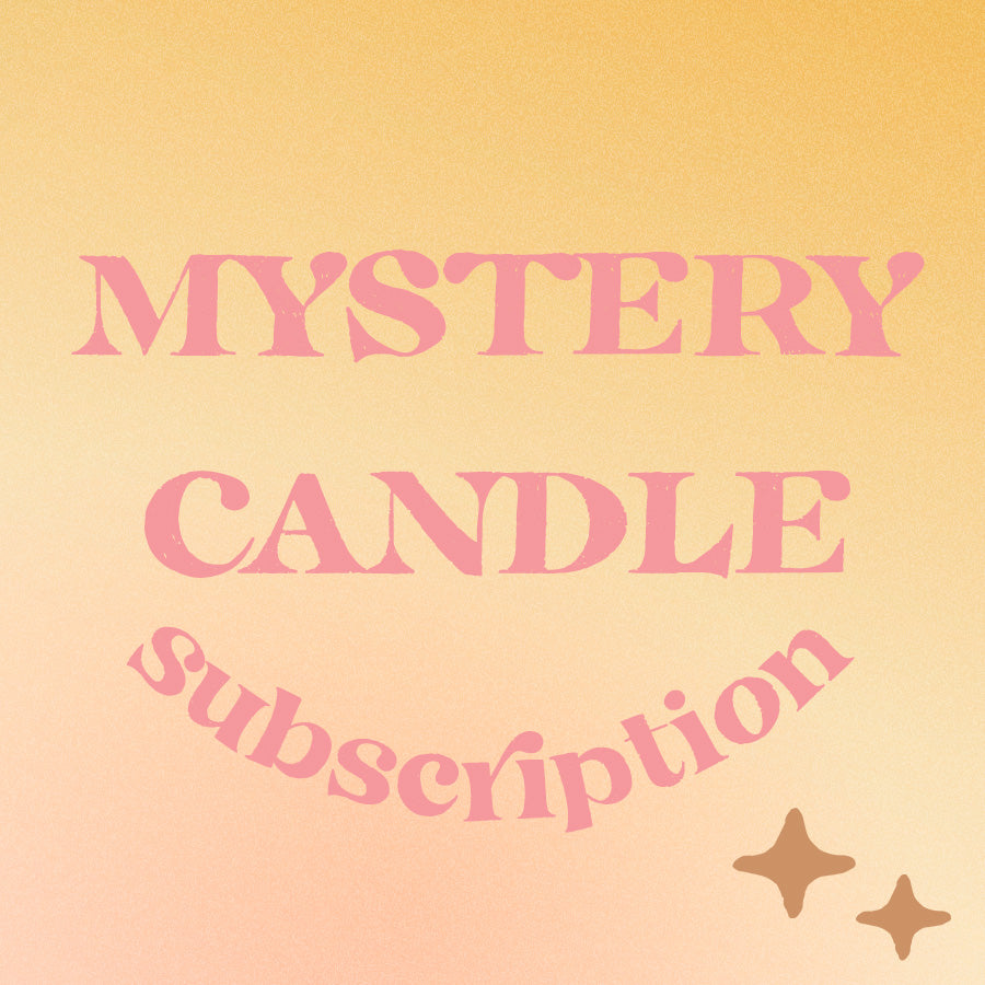 Mystery Candle Subscription