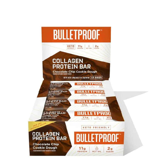Bulletproof Protein Bars Chocolate Chip Cookie Dough 1