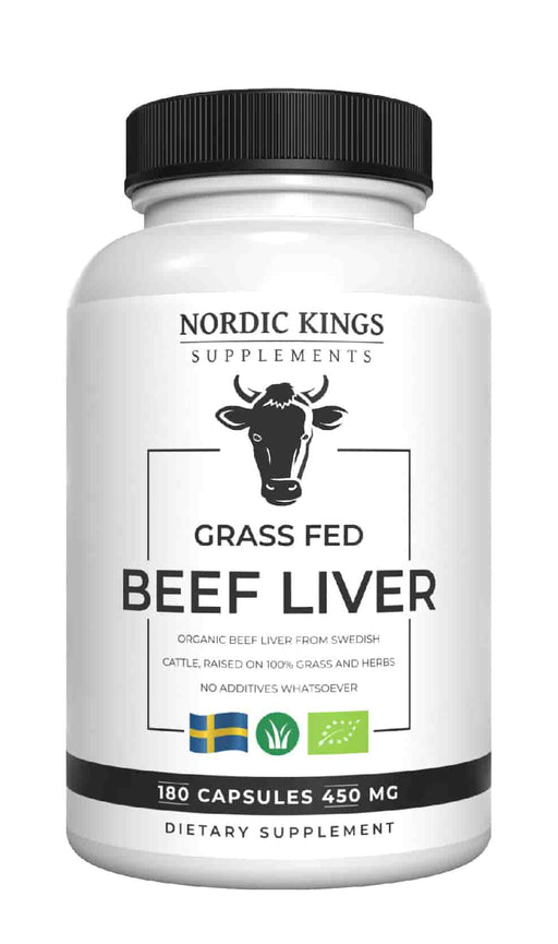 Nordic Kings Grass Fed Beef Liver