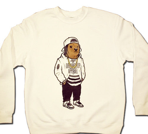 ASAP Bear Crewneck (White)