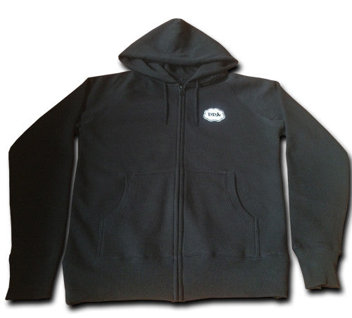 Cloud Zip-Up Hoody (Black)