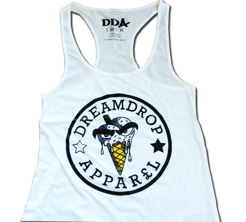 Ladies All Star Vest (White)