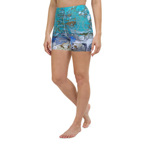 Zarya High Waist Yoga Shorts