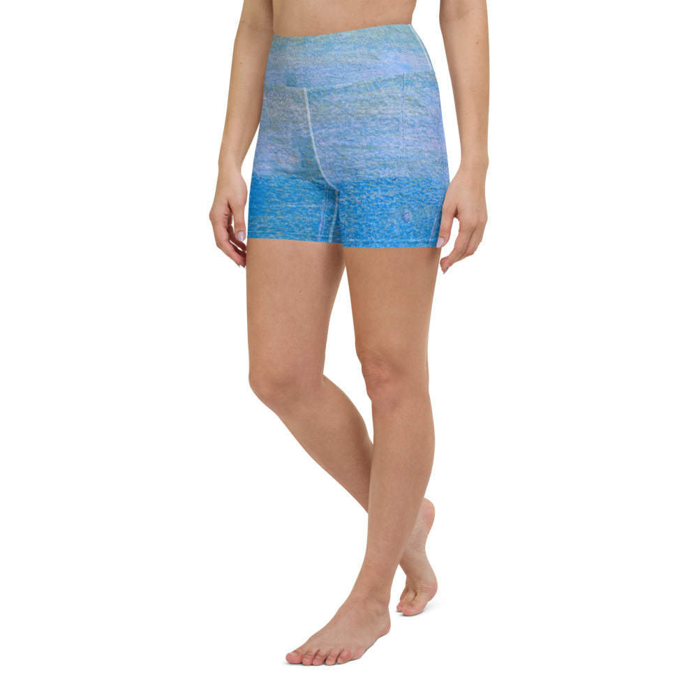 Ara High Waist Yoga Shorts