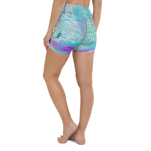 Isla High Waist Yoga Shorts