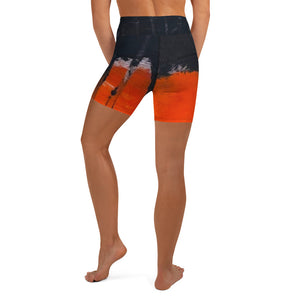 Enyah High Waist Yoga Shorts