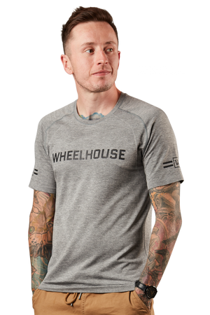 WHEELHOUSE x lululemon // METAL VENT TECH SHORT SLEEVE [GREY]