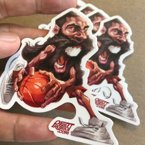 The BEARD | James Harden Sticker