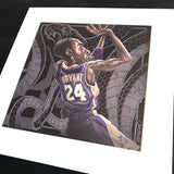 Black Mamba Matted Art Print