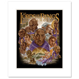 The Lords Matted Art Print