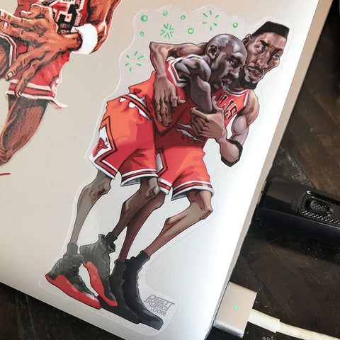 Flu Game Sticker