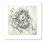 Stevie Matted Art Print