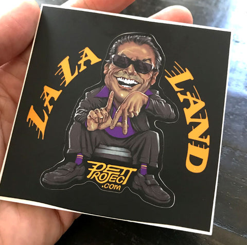 LALA LAND Sticker