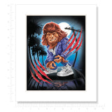 Teen Wolf Matted Art Print