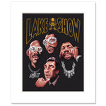 The LAKESHOW Matted Art Print
