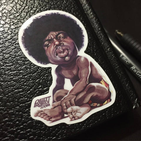 Biggie Sticker