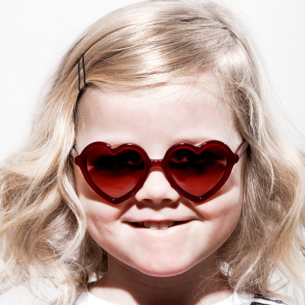 Lola Sunglasses Burgundy
