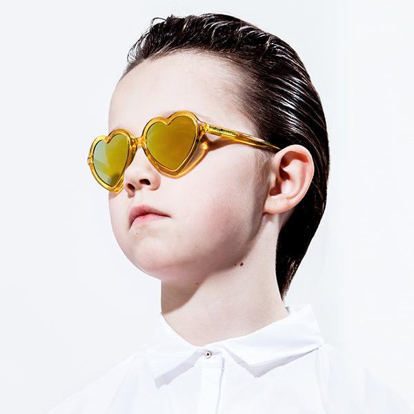 Lola Sunglasses Yellow Jelly