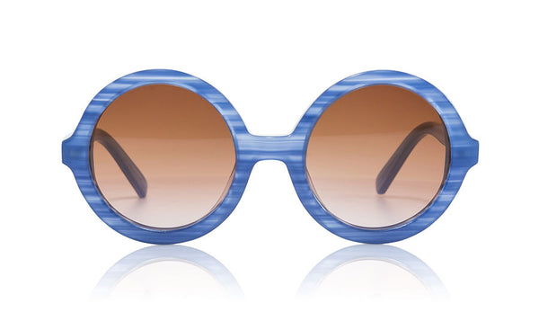 Sons + Daughters Eyewear Childrens Fashion Kids Sunglasses Lenny Cotton Blue Dusk