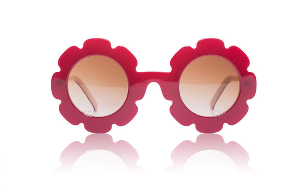 Sons + Daughters Eyewear Childrens Fashion Kids Sunglasses Pixie Syrah Red