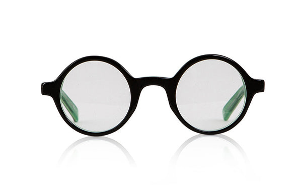 Sons + Daughters Eyewear Childrens Fashion Kids Optical Harry Black Green Clear Layer