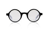 Sons + Daughters Eyewear Childrens Fashion Kids Optical Harry Black White Clear Layer
