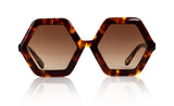 Sons + Daughters Eyewear Childrens Fashion Kids Sunglasses Honey Tortoise