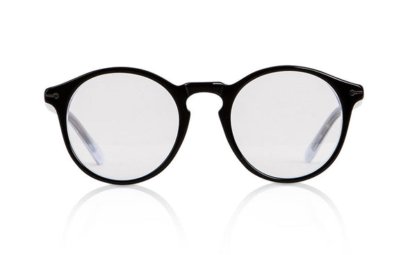 Sons + Daughters Eyewear Childrens Fashion Kids Optical Clark Black White Clear Layer