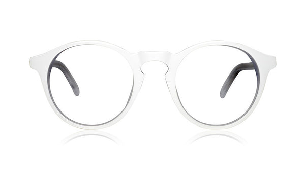 Sons + Daughters Eyewear Childrens Fashion Kids Optical Clark White Clear Layer