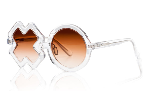 Sons + Daughters Eyewear Childrens Fashion Kids Sunglasses XO Clear