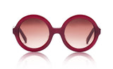 Sons + Daughters Eyewear Childrens Fashion Kids Sunglasses Lenny Burgundy