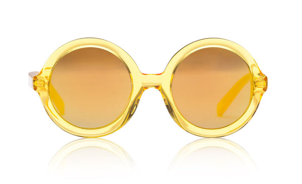 Sons + Daughters Eyewear Childrens Fashion Kids Sunglasses Lenny Yellow Jelly