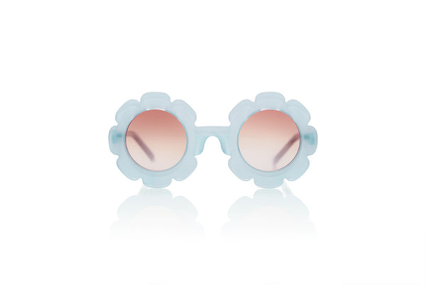 Sons + Daughters Eyewear Childrens Fashion Kids Sunglasses Pixie Jelly Bean Blue