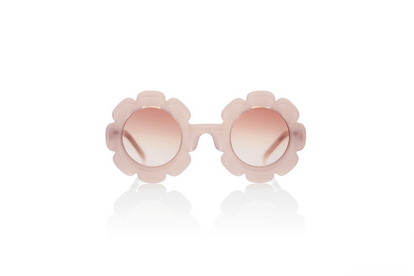 Sons + Daughters Eyewear Childrens Fashion Kids Sunglasses Pixie Cotton Candy Pink