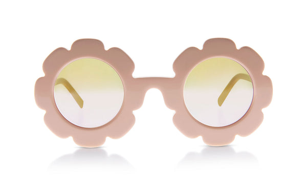 Sons + Daughters Eyewear Childrens Fashion Kids Sunglasses Pixie Bio Nude