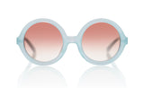 Sons + Daughters Eyewear Childrens Fashion Kids Sunglasses Lenny Jelly Bean Blue