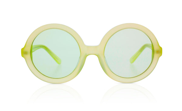 Sons + Daughters Eyewear Childrens Fashion Kids Sunglasses Lenny Margarita Green
