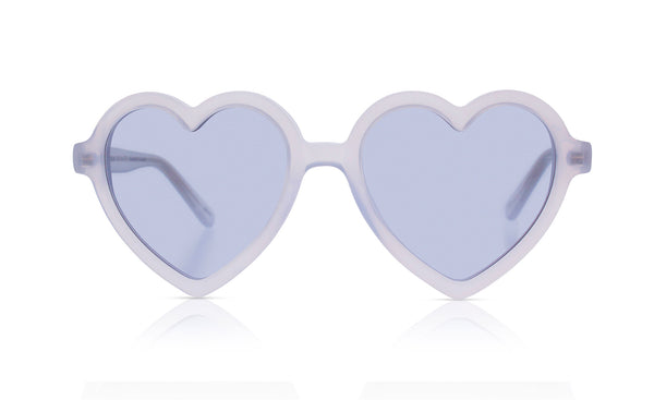 Sons + Daughters Eyewear Childrens Fashion Kids Sunglasses Lola Coconut White
